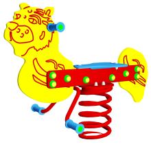 Huśtawka sprężynowa Tygrysek