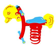 Huśtawka sprężynowa Kaczka