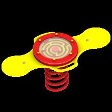 Huśtawka sprężynowa Labirynt na plac zabaw
