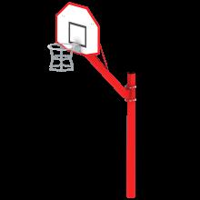 Koszykówka Kangur; kosz do gry w kosza