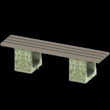 ławka betonowa elegant