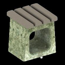 ławka betonowa sam