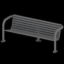 ławka krzyś; spawana solidna ławka, niezniszczalna