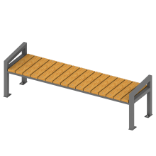 ławka prosta. ławki do parków