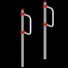 Street Workout STHENOS 10 - Ćwiczenia na świeżym powietrzu - Solidna konstrukcja - Sprawdzony producent - Comes