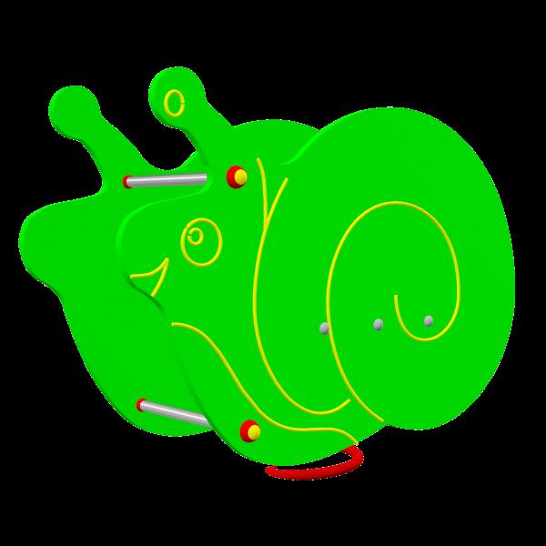 Huśtawka sprężynowa Ślimak