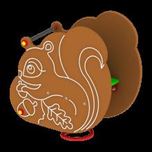 Huśtawka sprężynowa Wiewiórka