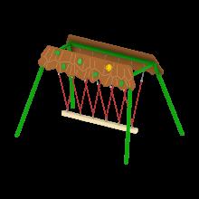 Zula A huśtawka na plac zabaw