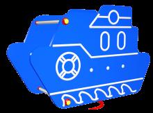 Huśtawka sprężynowa Okręt