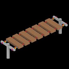 Mostek linowy 1