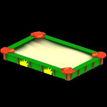 piaskownica malwa - leśna polana