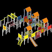 zestaw modułowy 06.48.75 na plac zabaw