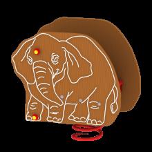 Huśtawka sprężynowa Słoń