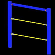 Ścianka linowa pojedyncza