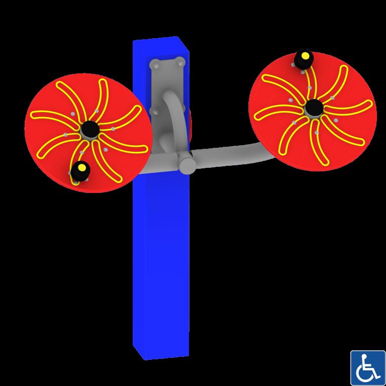 Koła toi-chi dla niepełnosprawnych