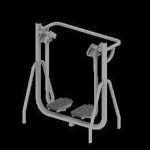 Biegacz wolnostojący - siłownie plenerowe
