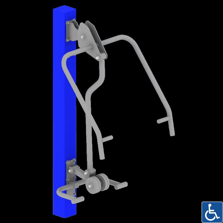 krzesło dla osób z niepełnosprawnością