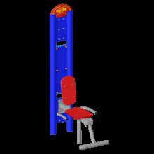 prostownik nóg. Solidne urządzenia na siłownie zewnętrzne.
