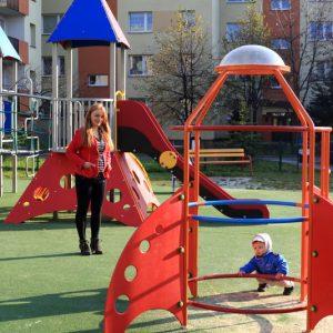 plac zabaw w Bielsku-Białej