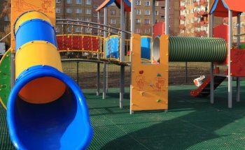 plac zabaw i siłownia w Sosnowcu