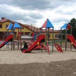 plac zabaw w Lipsku