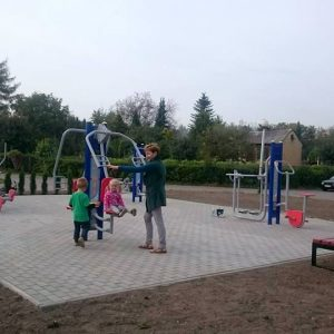 plac zabaw w Sosnowcu