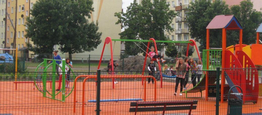 plac zabaw w Biłgoraju