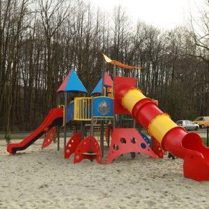 plac zabaw w Jastrzębim Zdroju
