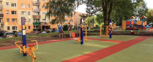 budowa placu zabaw w Bielsko-Białej