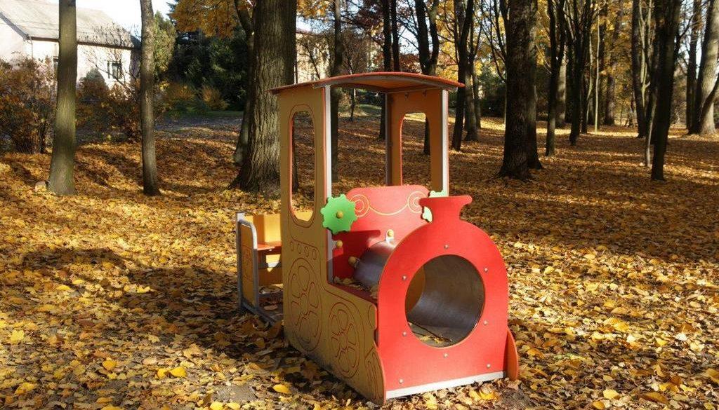 plac zabaw COMES w Dąbrowie Górniczej