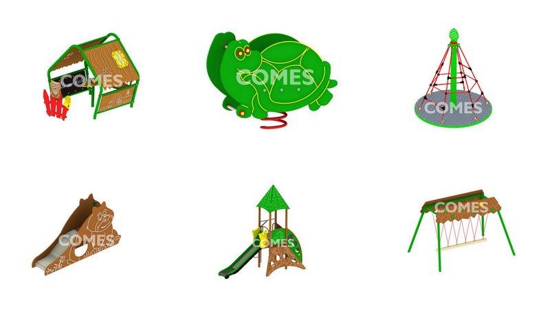 kolekcja leśna COMES