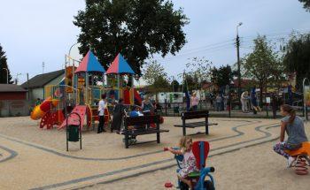 plac zabaw w Halinowie