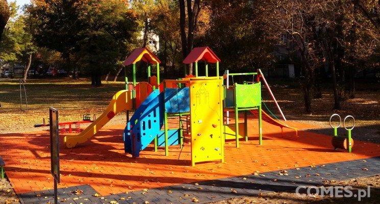 plac zabaw dla przedszkoli