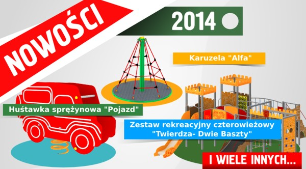 katalog placów zabaw comes 2014