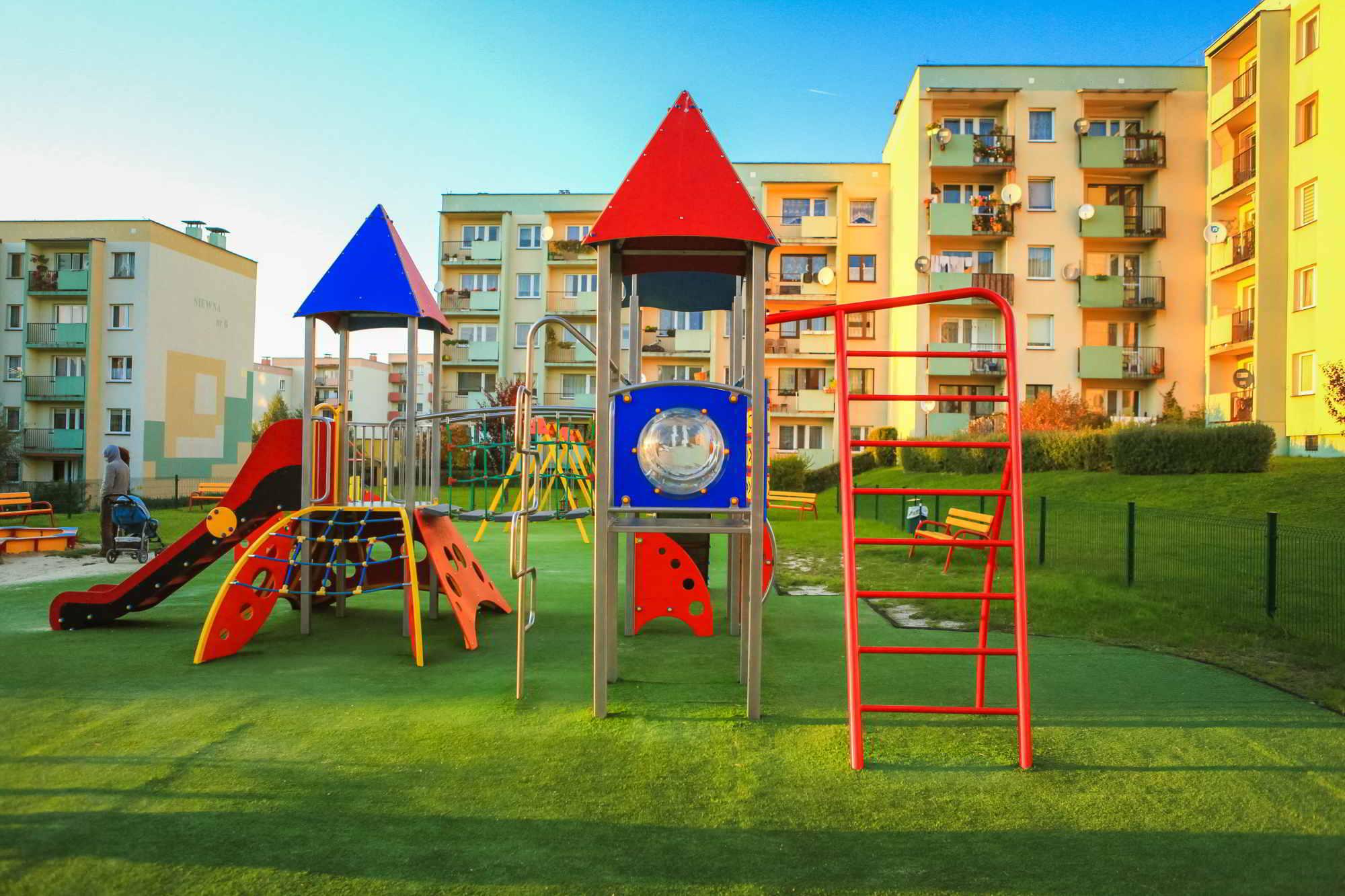 budowa placu zabaw dębica