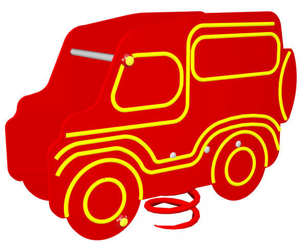 Huśtawka sprężynowa Jeep