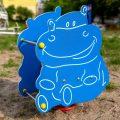 Huśtawka spręzynowa Hipopotam; producent Comes