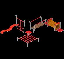 06.67.57 - Zestaw gimnastyczny; Widok 1