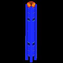 Pylon 3-stanowiskowy 14.00.05.000