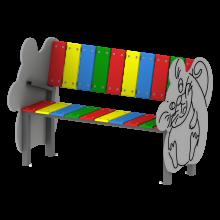 ławka zwierzak na plac zabaw
