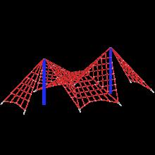linarium sieć p2; linarium na place zabaw; urządzenia z lin